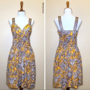 Trina Turk silk printed dress